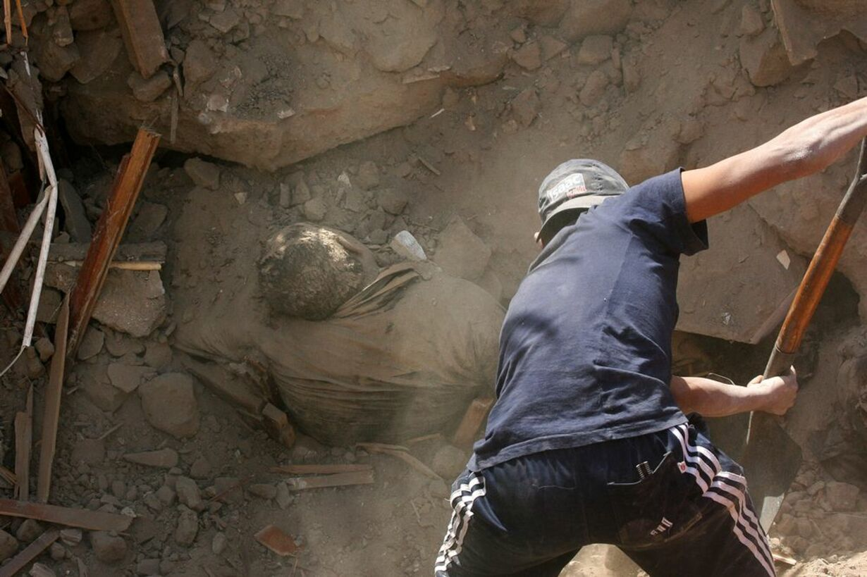 Jordskælvet i Peru - 3