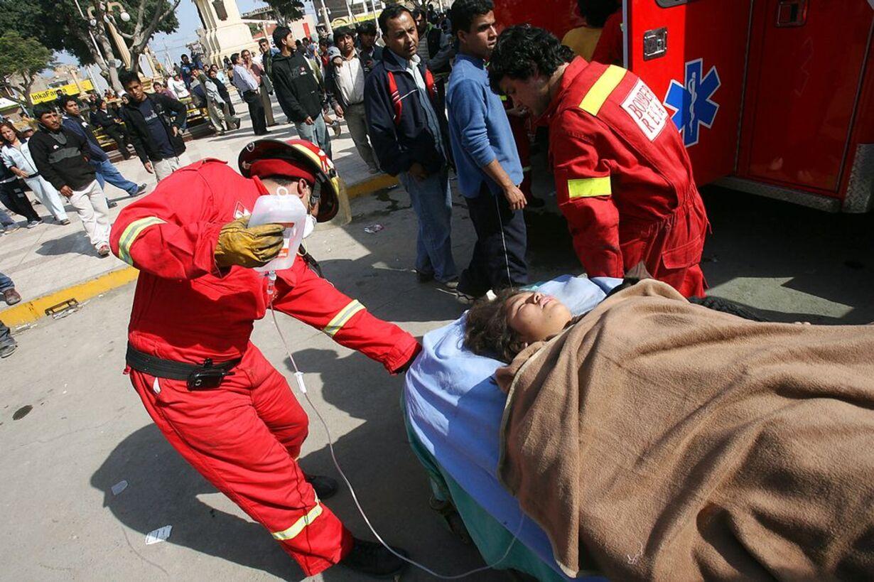 Jordskælvet i Peru - 4