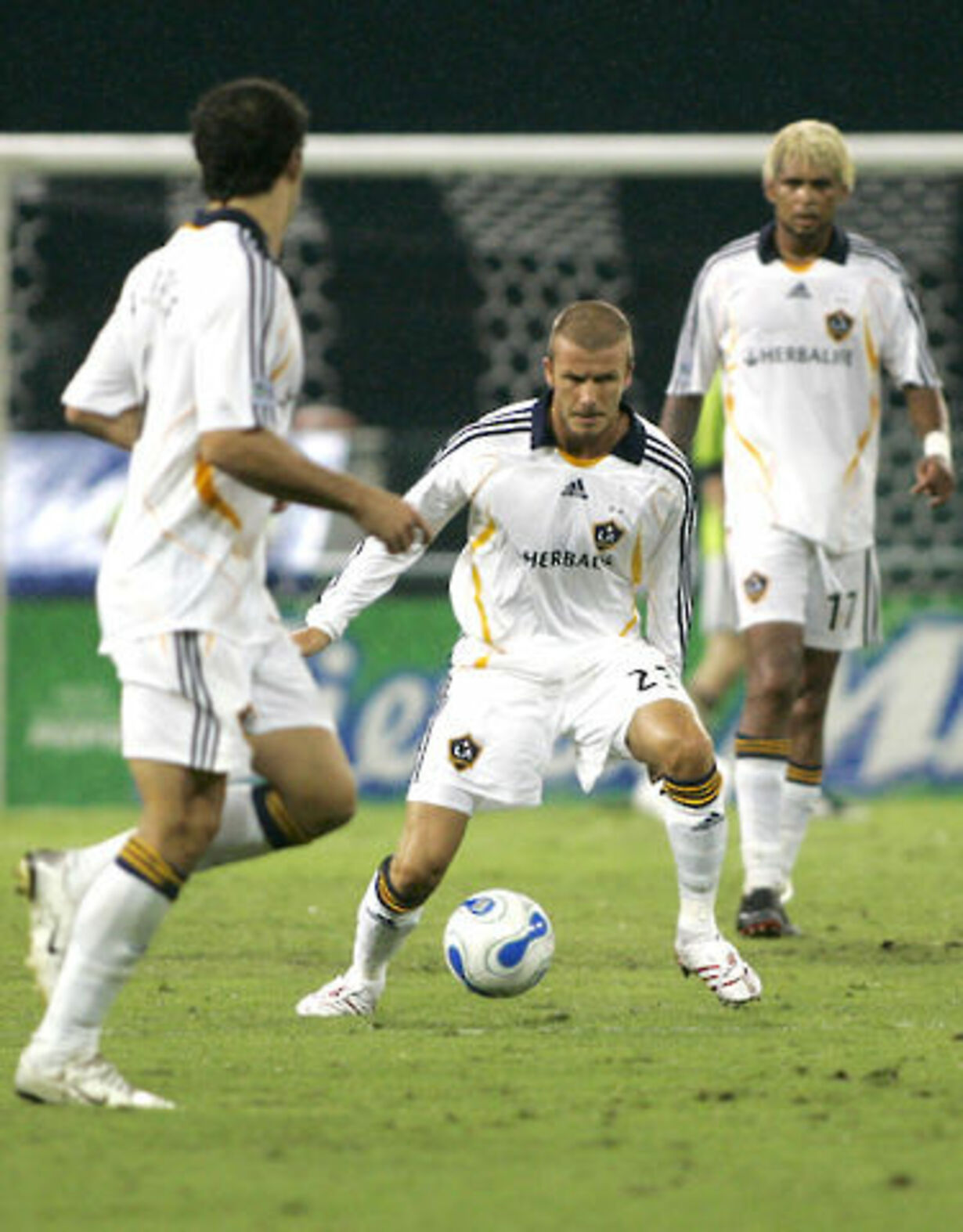 Beckhams debut i Los Angeles - 6