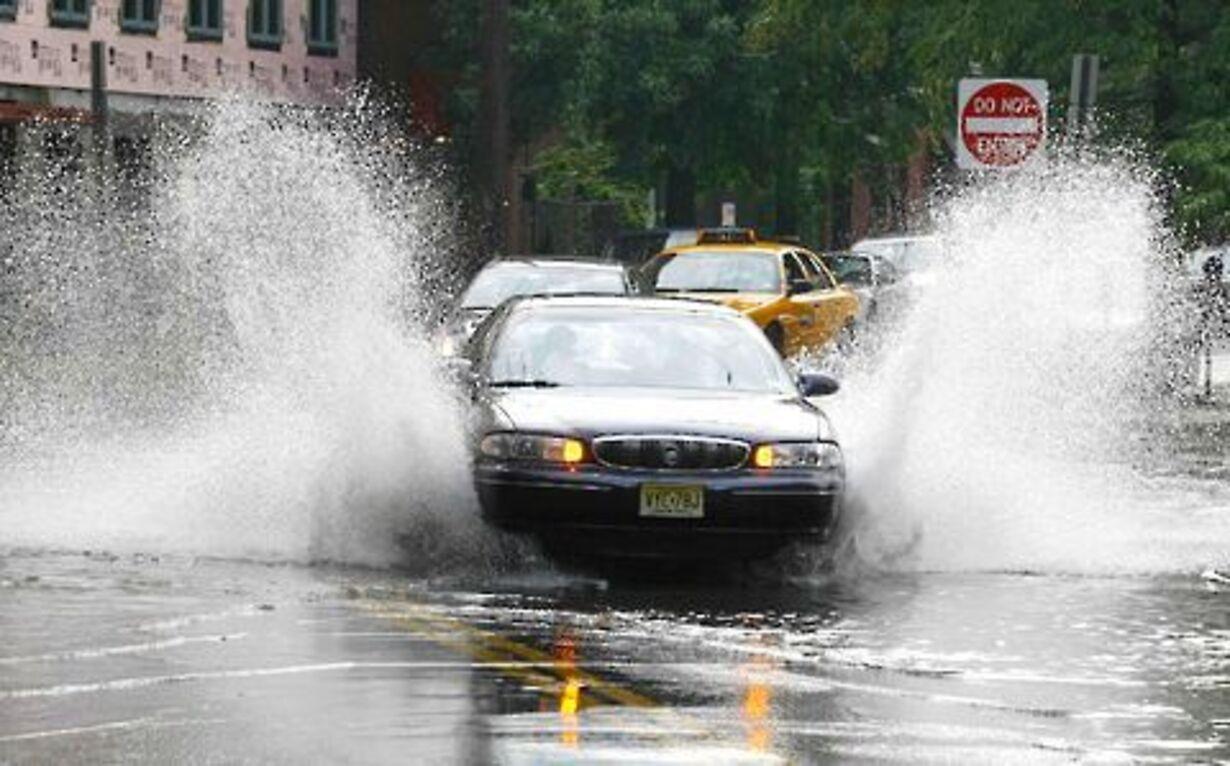 Uvejr rammer New York - 3