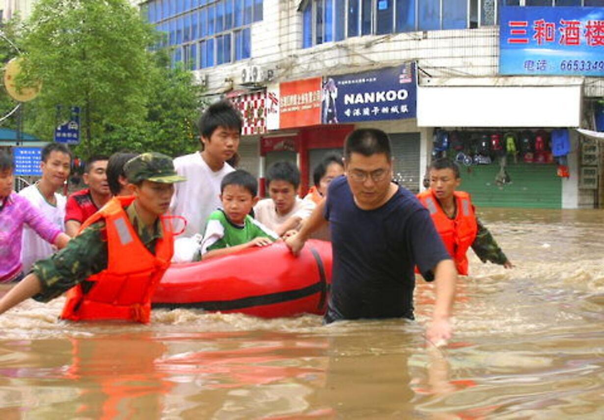 Naturkatastrofer verden rundt - 1