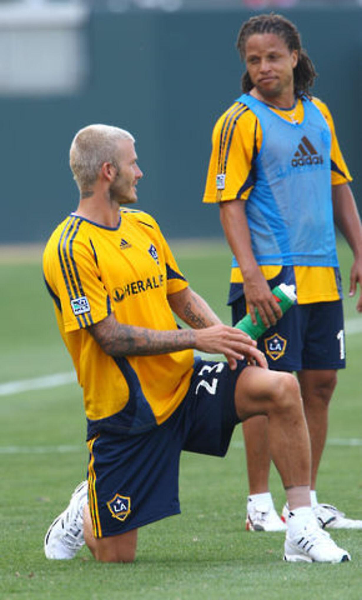 Beckham på banen - 1