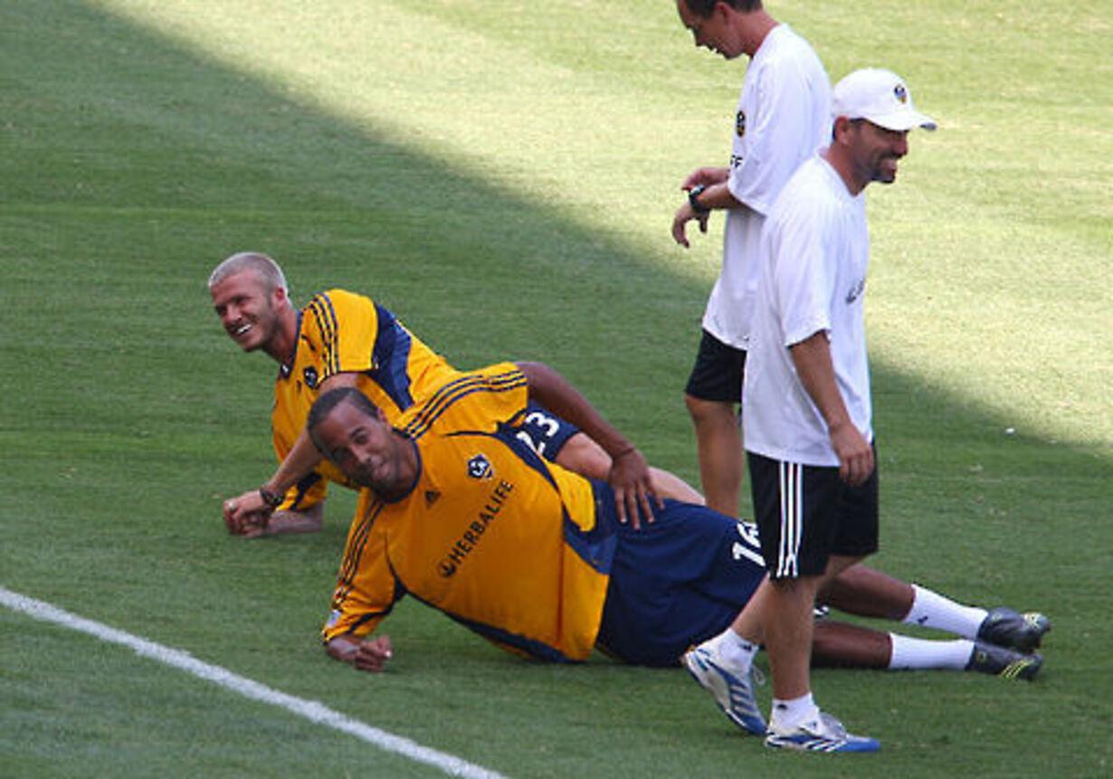 Beckham på banen - 2