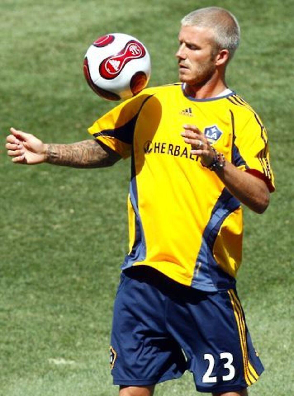 Beckham på banen - 4