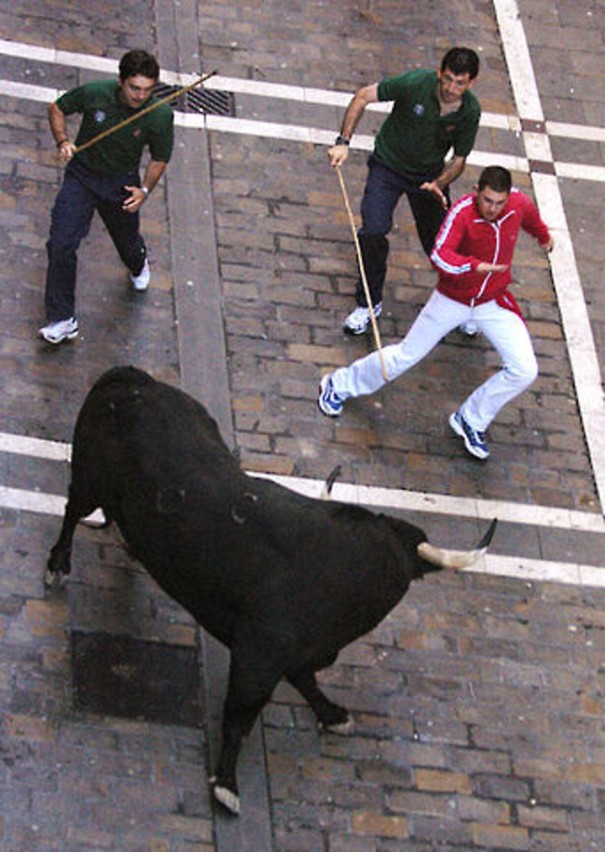 Dramatisk tyreløb i Pamplona - 7