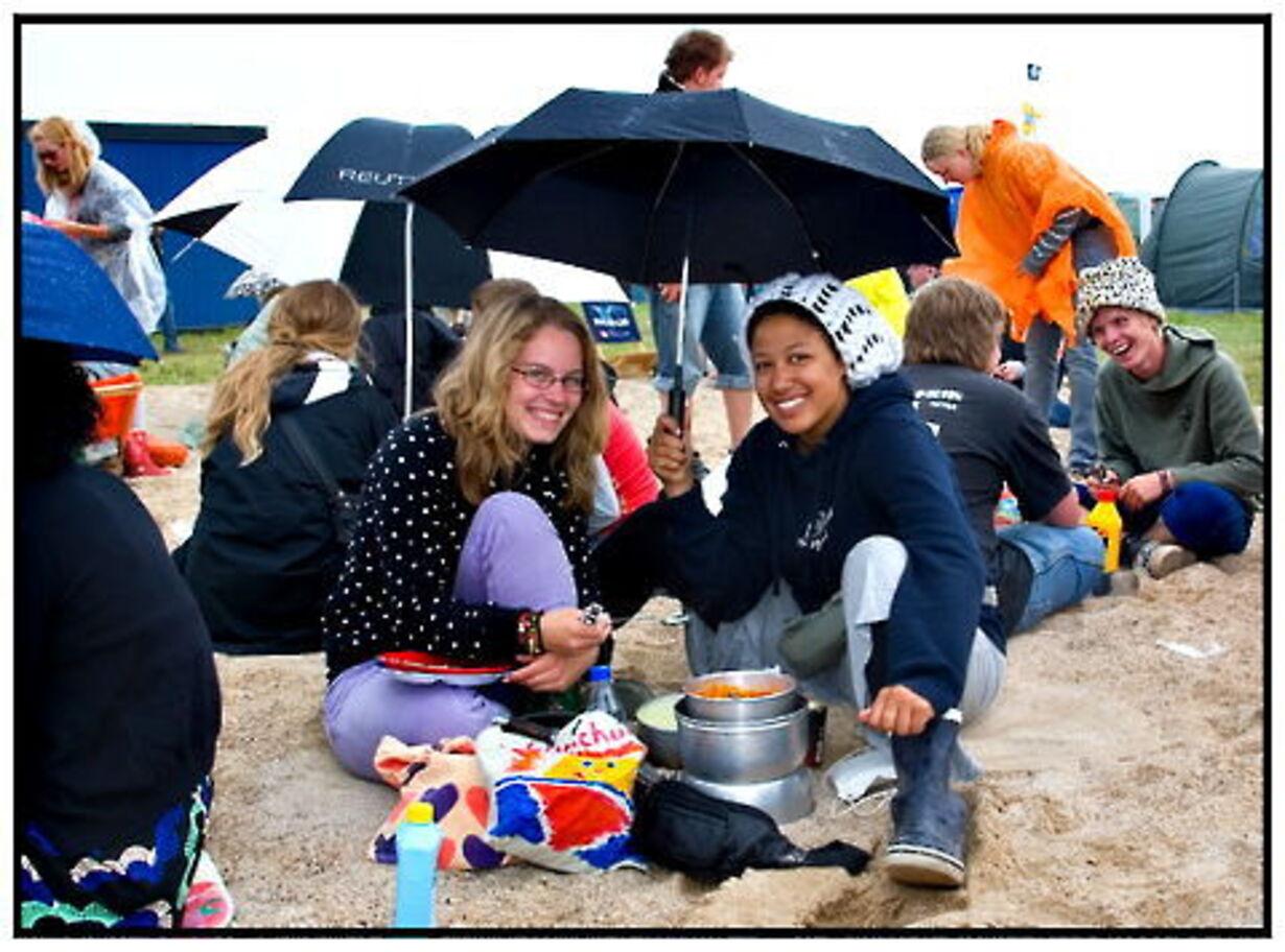 De første dage på Roskilde Festival - 5