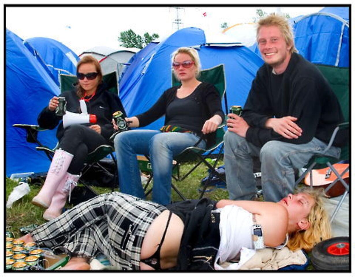 De første dage på Roskilde Festival - 7