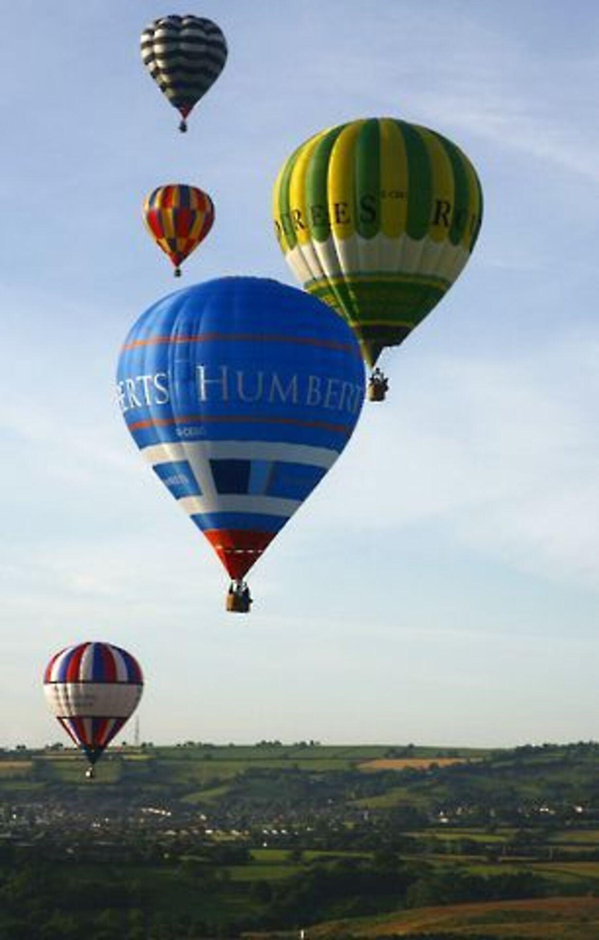 Balloner i luften - 1