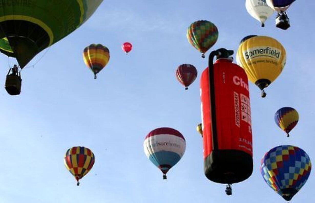 Balloner i luften - 3