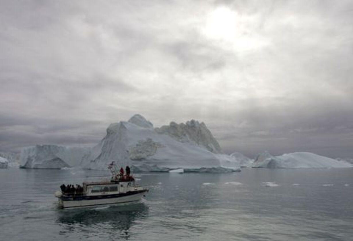Fogh og Merkel på besøg på Grønland - 6