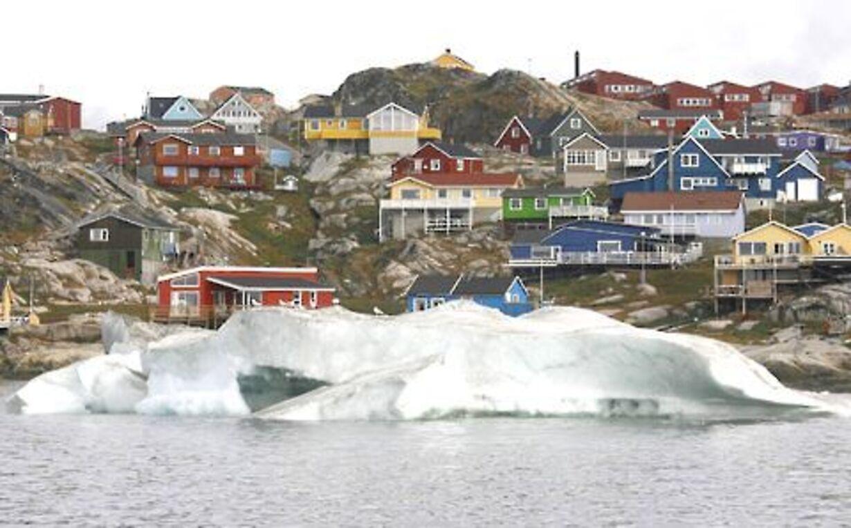 Fogh og Merkel på besøg på Grønland - 7