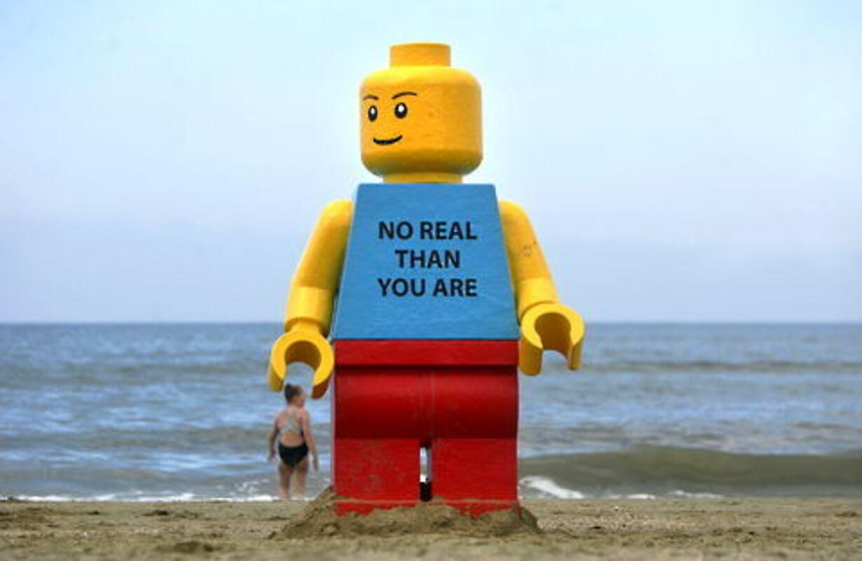 Gigantisk Lego-mand fisket op - 3