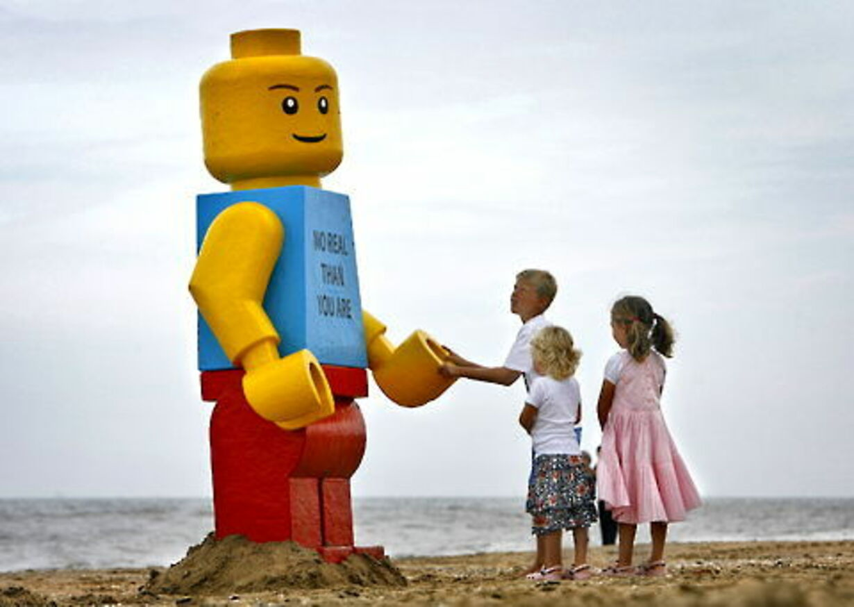 Gigantisk Lego-mand fisket op - 5