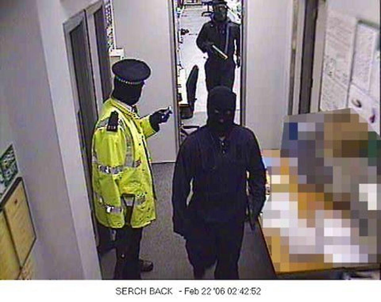 Det dramatiske Kent-røveri i billeder - 2