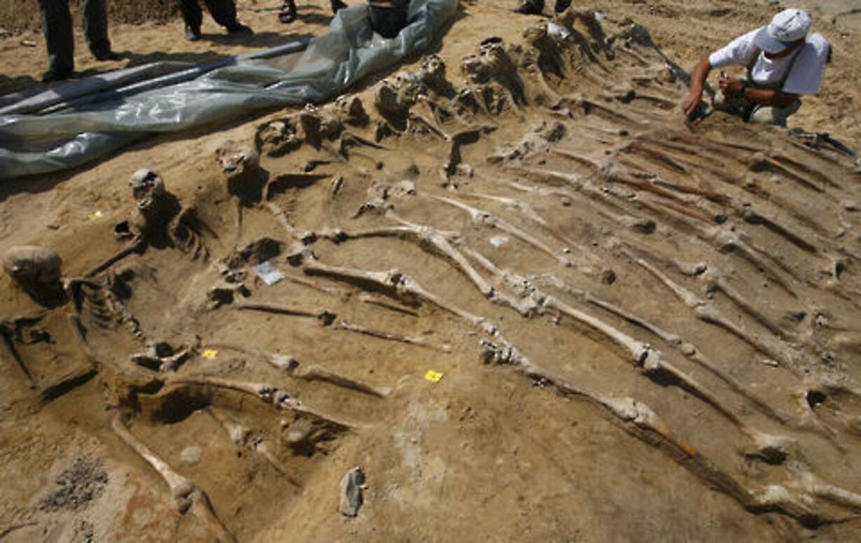 Fund af massegrav fra 30-årskrigen - 1