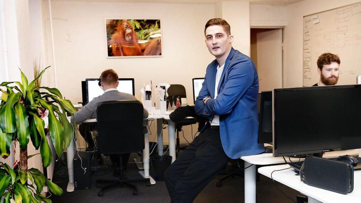 Nicolas Kirk Jørgensen, CEO for og medejer af Statum