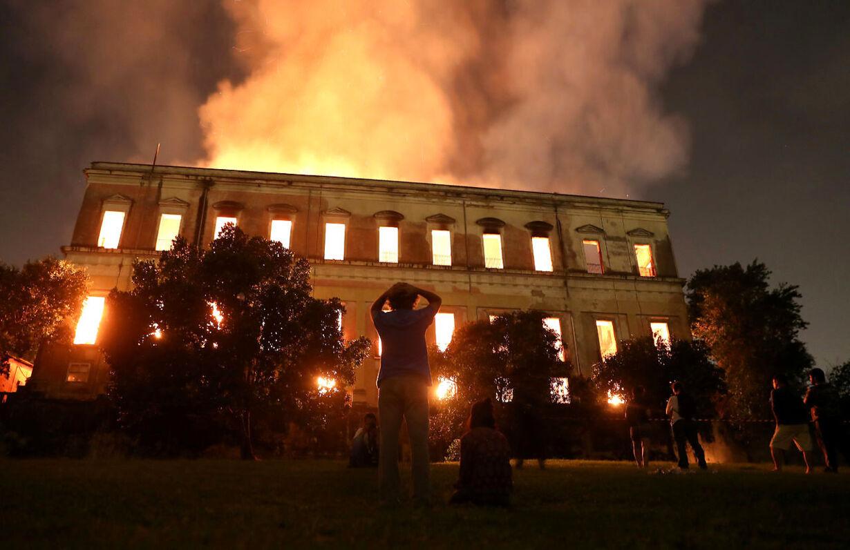 BRAZIL-FIRE/MUSEUM