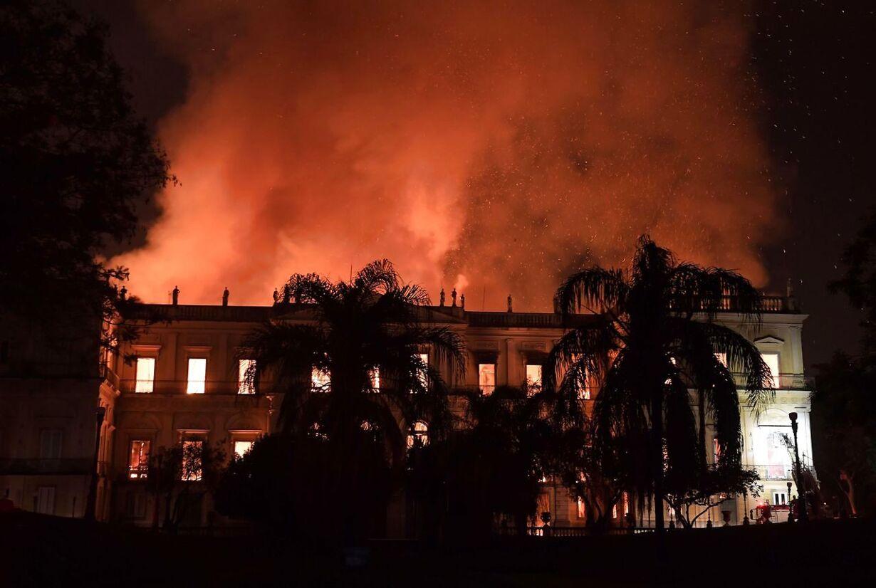 TOPSHOT-BRAZIL-FIRE-MUSEUM