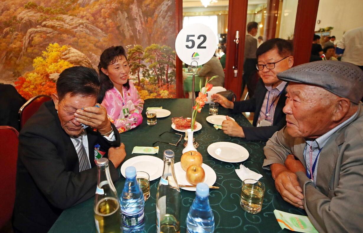 NORTH KOREA SOUTH KOREA FAMILY REUNIONS