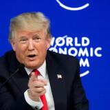Et år på posten har ikke gjort danskerne mere venligt stemt over for USA''s præsident Donald Trump. Scanpix/Fabrice Coffrini