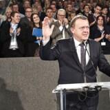 Det var på Venstres landsmøde i Herning, at Løkke og partiet hyldede deres digitale kriger Daisie Larsen.