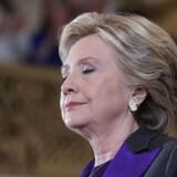 Hun dumpede med et brag, Hillary Clinton, og måske burde langt flere have set det komme.