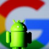 Onsdag falder dommen i EU-Kommissionens sag mod Google om mobilstyresystemet Android. Arkivfoto: Dado Ruvic, Reuters/Scanpix