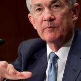 Chefen for den amerikanske centralbank, Jerome Powell, forventes at sætte den amerikanske rente op onsdag aften.