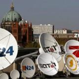 Selskabet bag TV-kanalen Sat 1, Pro Sieben, danner sammen med Discovery en ny, fælles streamingtjeneste og inviterer konkurrenterne med om bord. Arkivfoto: Arnd Wiegmann, Reuters/Scanpix