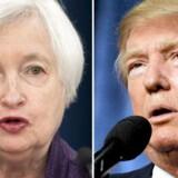 Janet Yellen har flere gange været mål for kritikmaskinen Donald Trump. Danske økonomer tror dog, at Yellen bliver på posten.