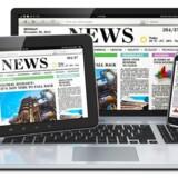 Færre og færre læser onlinenyheder gennem Facebook - delvis fordi Facebook selv har ændret på, hvor ofte man får nyheder serveret. Arkivfoto: Iris/Scanpix