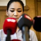 »Du hænger i med det yderste af neglene og samtidigt trækker du de radikale ned,« skriver en anonym profil i kommentarfeltet under Anne Mee Allerslevs opslag på Facebook. Billedet er fra det pressemøde, hvor den afgående borgmester meddelte, at hun ville trække sig.