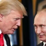 Ruslands præsident Vladimir Putin og USAs præsident Donald Trump talte sammen under et asiatisk økonomimøde i Vietnam i november sidste år og har også mødtes under et G20-topmøde i Tyskland, men har aldrig før holdt topmøde kun de to.