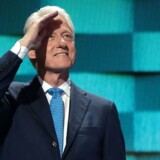 Bill Clinton til Democratic National Convention i 2016.