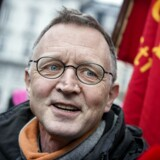 Anders Bondo Christensen på vej ind til forhandlingerne, som fortsætter i Forligsinstitutionen tirsdag den 3. april 2018. (Foto: Liselotte Sabroe/Ritzau Scanpix)