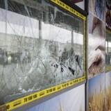 Det nu lukkede og ødelagte Bageriet Kaj i Tingbjerg, som er ejet af Ali Parnian.