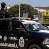 Migranter, der ønsker at komme til USA, passerer ofte gennem Mexico, hvor mange søger hjælp fra ulovlige menneskehandlere. Arkivfoto fra Tijuana/ AFP PHOTO / GUILLERMO ARIAS