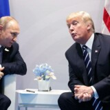 Vladimir Putin og Donald Trump mødtes under G20-topmødet i Hamburg i juli.