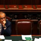 Italiens finansminister, Giovanni Tria. Arkivfoto: REUTERS/Tony Gentile/Ritzau Scanpix.