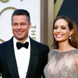 Brad Pitt og Angelina Jolie i 2014.