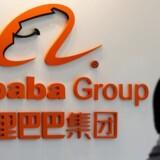 Den amerikanske søgemaskinegigant Google har besluttet sig for at investere 550 mio. dollar eller godt 3,5 mia. kr. i den kinesiske e-handelsplatform JD.com, der konkurrerer med ligeledes kinesiske Alibaba.REUTERS/Lai Seng Sin