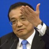 Den kinesiske premierminister, Li Keqiang, er klar til at skrive under.