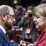 Europa-Parlamentets formand Martin Schulz forlader posten for at stille op mod Angela Merkel ved det tyske forbundsdagsvalg i 2017.