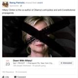 Eksempel på fake annoncer fra Facebook, som russerne har bestilt for at støtte Trump og modarbejde Clinton. Kilde: The New York Times