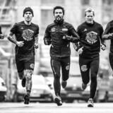 Mikkeller running løbeklub. De starter og slutter altid med en øl på Warpigs i Kødbyen.