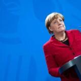 »Partnerskabet med USA forbliver en grundsten i tysk udenrigspolitik«, sagde Merkel onsddag om sejren til Donald Trump.