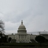 Det amerikanske statsunderskud voksede i det seneste regnskabsår og landede på 666 milliarder dollars for året. Her ses kongresbygningen Capitol Hill i hovedstaden Washington D.C.