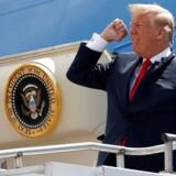 Præsident Donald Trump har netop indledt en handelskrig, som risikerer at skade amerikanske virksomheder mest. (REUTERS/Joshua Roberts)