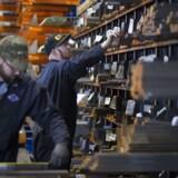 Stålværk i Illinois er allerede i gang med at ansætte flere folk, efter præsident Trump har gjort alvor af at lægge told på import af stål og aluminium. (Foto: NATALIE BEHRING/Scanpix 2018)