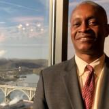 FILE PHOTO: Raphael Bostic, Præsident i Federal Reserve Bank of Atlanta.